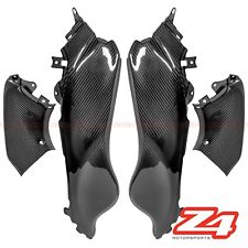2008-2017 Hayabusa GSX1300R Gas Tank Side Cover Trim Fairing Cowl Carbon Fiber