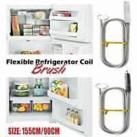 Kitchen Long Flexible Refrigerator Scrub Brush Tool
