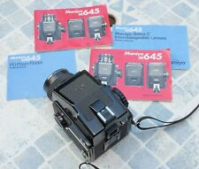 Mamiya M645 ; PD Prism finder ; Sekor f80mm 2.8 moyen format good condition