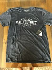 1 Nwt Matte Grey Men'S T-Shirt, Size: Large (Original Recreation - Grey)