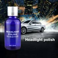 30ML 9H Auto Car Headlight Lens Restorer Repair Liquid Polish Cleaning Tools Hot