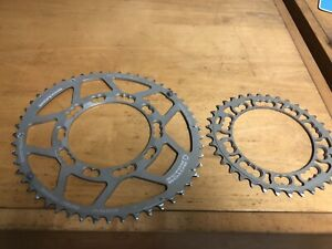 NEW ROTOR Q-RINGS oval bicycle chainrings set 52t-36t 110bcd x 5-bolt