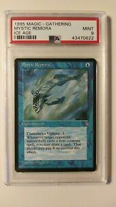 PSA 9 1995 MTG Magic - Gathering Ice Age Mystic Remora - MINT