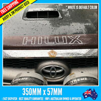 Hilux Bonnet protector Decal sticker 350mm x 57mm premium Vinyl 4x4 off road