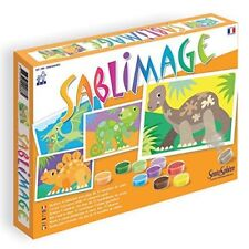 Sablimage Dinosaurs - Sand Art - Arts and Crafts for Kids