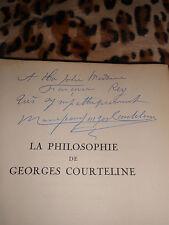 La philosophie de G. Courteline, La conversion d'Alceste - Gründ, signé numéroté