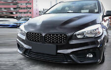 Front Center Grille Grid Cover For BMW 2 Series F45 F46 Gran Active Tourer 15-19