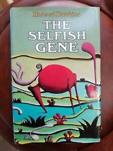 RICHARD DAWKINS The Selfish Gene 1976 1st Edition 2nd Impression hardback