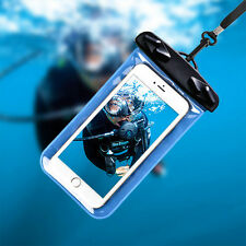 Waterproof Underwater Swim Pouch Dry Bag Case Cover For Mobile Cell OK