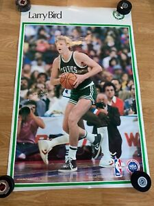 1987 Spots Illustrated Boston Celtics Larry Bird 35 X23 Excellent Condition
