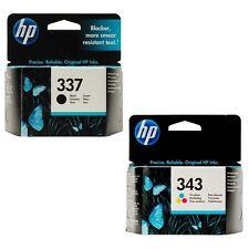 HP 337 & 343 Original OEM Inkjet Cartridges For Officejet 6310,6313