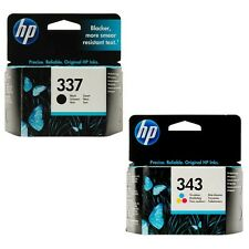 HP 337 343 & ORIGINAL OEM A GETTO D'INCHIOSTRO A CARTUCCE PER Officejet 6310,6313