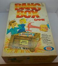 VINTAGE 1969 IDEAL BANG BOX HAMMER & BALLOON GAME GOOD CONDITION