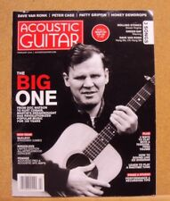 Acoustic Guitar Magazine February 2016  Vol. 26 No. 8 Issue 278 The Big One 100