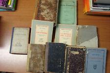 Lotto 17 libri antichi 800 e 900. Vendibili anche singolarmente.