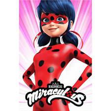 Decke Ladybug 1 100x150 Fleece Kinder Kinderdecke Kinder Kuscheldecke Miracolous