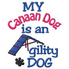 My Canaan Dog is An Agility Dog Sweatshirt - Dc1748L Size S - Xxl