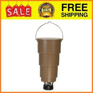 Moultrie 5-Gallon All-In-One Hanging Deer Feeder With Adjustable Timer, AT5