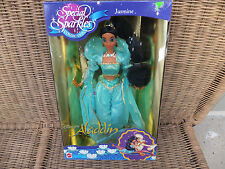 Disney Jasmine Aladdin Special Sparkles Collection 1994 NRFB MIB