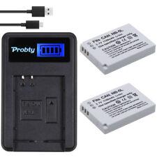 2pcs NB-5L battery + charger For Canon PowerShot SX230  IXUS 850 870 800 860 990