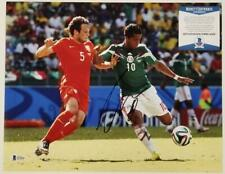 Giovani Dos Santos signed 11x14 Photo Autograph Mexico (D) ~ Beckett BAS COA