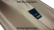 "Conductive Fabric ie. RFID Blocking Fabric Shield 43""x12"""