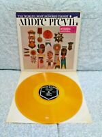 ANDRE PREVIN~The World's Most Honored Pianist~PRI Records 3026-yellow vinyl