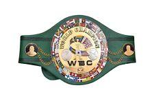 WBC WORLD CHAMPION REPLICA BELT 4 MM BRASS PLATES ADULT FULL SIZE