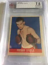 1948 Leaf Boxing Freddy Steele #71 BVG 7.5