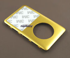 gold front faceplate cover housing case lens for ipod classic 80gb 120gb 160gb