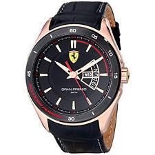 Orologio Uomo Ferrari Gran Premio Placcato Oro Rosa 0830185
