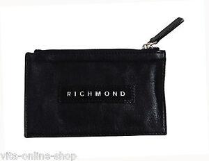 JOHN RICHMOND Wallets Kosmetiketui / Geldbeutel Pochette/Por, schwarz Auktion