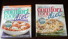 2 TASTE of HOME SOFTCOVERS -   Comfort Food Diet - EXCELLENT RECIPES