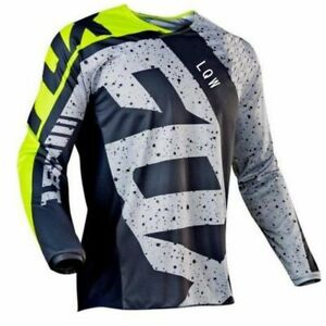 Cycling Jersey Long Sleeve Men Breathable Road Mountain Motorcycle Bicycle Bike