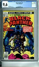 BLACK PANTHER 8 CGC 9.6 WHITE PAGES JACK KIRBY STORY COVER & ART 3/78 Marvel