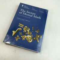 Teaching Co Great Courses Coursebook DVDs THE SECRETS of MENTAL MATH New/Sealed