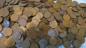 500+ 1909-1939 Wheat Pennies! Only Teens, Twenties, and Thirties! Pre-1940 Cents