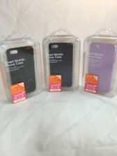 Lot OF 3 CASE MobC   Apple iPhone 5/5S Hard PlasticCase Cover + Screen Protector