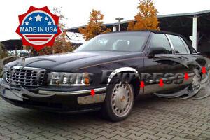 "1997-1999 Cadillac DeVille Rocker Panel Trim Body Side Molding Cover FL 5"" 10Pc"