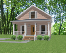 Affordable House Home Blueprints Plans 3 bedroom 1610 sf PDF