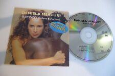 DANIELA MERCURY CD 2 TITRES POCHETTE CARTONNEE. RAPUNZEL. CARDSLEEVE.