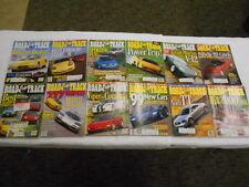 ROAD & TRACK 12 Issues 1998 Porsche 911 Lamborghini Diablo Aston Martin Vantage