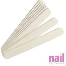 10 x Nail Files Double Sided 100/180 Grit Emery Board 178x19x4mm *HIGH QUALITY*