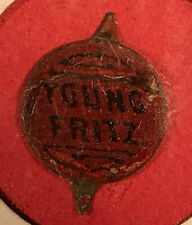 Vintage Young Fritz Tobacco Tag