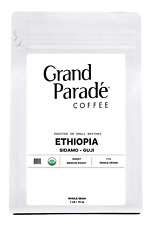 Organic Ethiopian Sidamo Fresh Medium Roasted Whole Bean Coffee | 1 LB Bag