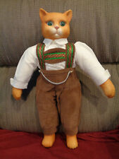 125Th Anniversary 1996 Goebel Carol Anne Musical Cat Doll Limited Edition Of 500