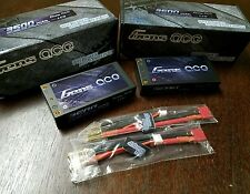 2x Gens ace 3500mAh SHORTY LCG 2S 7.4V 60C Lipo Battery B44 LOSI 22 ORION  B6