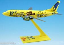 WESTERN PACIFIC AIRLINES THE SIMPSONS Boeing 737-300 DESK MODEL