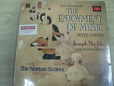 The Enjoyment of Music Sixth & for The Norton Scores Fifth- Machlis Forney NEW