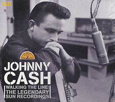 [BRAND NEW] 3CD: JOHNNY CASH: WALKING THE LINE: THE LEGENDARY SUN RECORDINGS